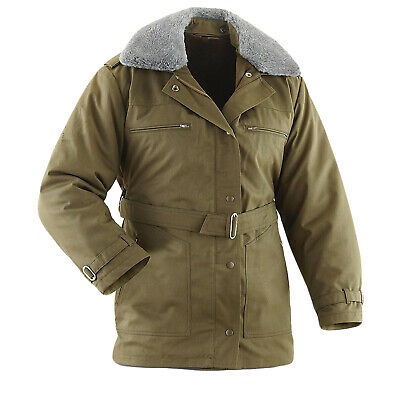 £24.99 • Buy Czech Army Military Cadet Winter Parka Olive Drab Unused Army Jacket