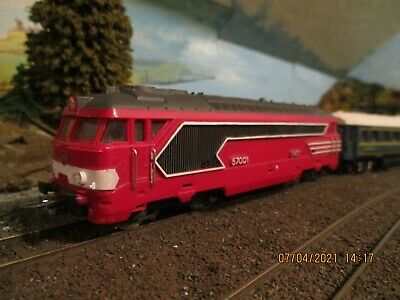 AU26.15 • Buy Jouef  SNCF BB67000 Class Loco HO Scale 00 Gauge In Red Livery ,nice Looking