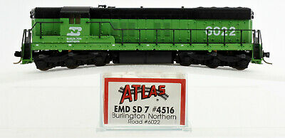 AU97.58 • Buy Atlas N Scale 4516 Burlington Northern Sd-7 Diesel Engine #6022