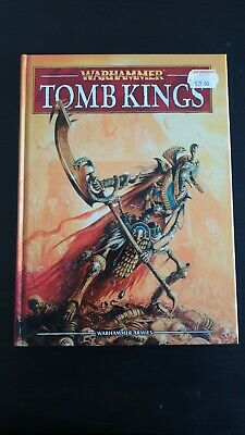 Games Workshop Warhammer Fantasy Battle 8th Edition Tomb Kings Army Book • 20£