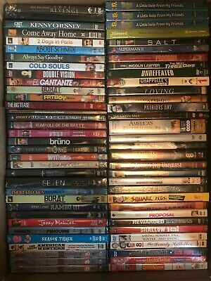 $ CDN100.19 • Buy Lot Of 62 DVDs BRAND NEW SEALED INCLUDES SERIES & BOX SET -- FREE SHIPPING
