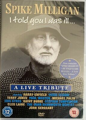 £3.79 • Buy Spike Milligan - I Told You I Was Ill A Live Tribute. New Sealed DVD