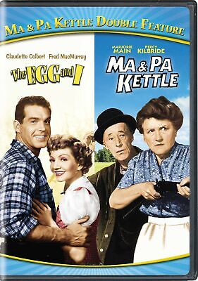 $8.99 • Buy Ma & Pa Kettle The Egg And I / Ma & Pa Kettle DVD  NEW