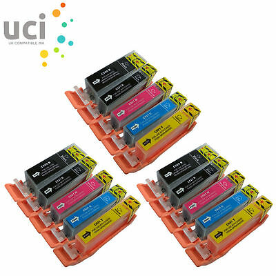 £8.05 • Buy 15 Ink Cartridges For Canon Pixma IP4600 MP540 MP560 MP630 MP980 MX860