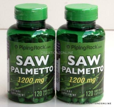 AU55.75 • Buy DOUBLE STRENGTH Saw Palmetto 1200 Mg 240 Capsules  Prostate Health PIPING ROCK