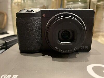 View Details Ricoh Gr III Digital Camera | 3 X Batteries + Charger | Carry Case + Straps • 550.00£