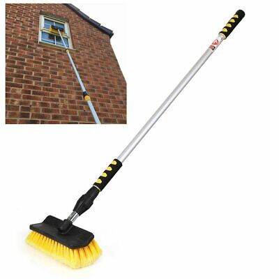 £27.99 • Buy Telescopic Water Fed Window Cleaning Pole Cleaner Squeegee Car Brush Extension