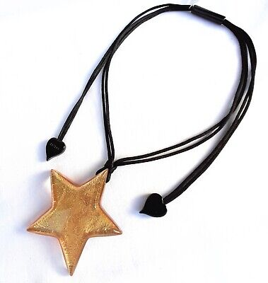 AU45 • Buy ZSISKA New ⭐️Star Collection Beautiful 'Gold Leaf' Pendant Necklace