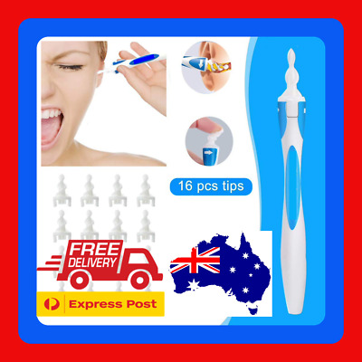 AU8.99 • Buy 17pc Ear Wax Remover Ear Wax Cleaner Q-Grips Ear Wax Remover FREE EXPRESS