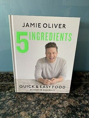 AU14.41 • Buy 5 Ingredients - Quick & Easy Food By Jamie Oliver (Hardback, 2017)