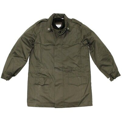 £29.99 • Buy Genuine Italian Army Olive Drab Military Combat Winter Field Parka With Lining