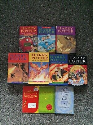 $ CDN44.91 • Buy Harry Potter Hardback Book Set Complete First Editions