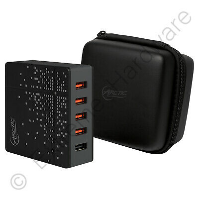 £13.20 • Buy Arctic Global Charger 8000 5-Port USB Travel Charger Quick Charge 2.0 Qualcomm