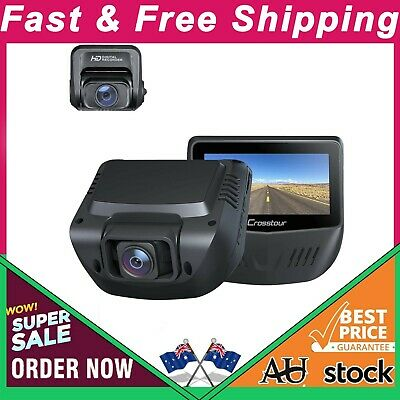 AU255.99 • Buy Dual Dash Cam, Front And Rear 1080P Dash Camera For Cars, Optional Gps, 170° Wid