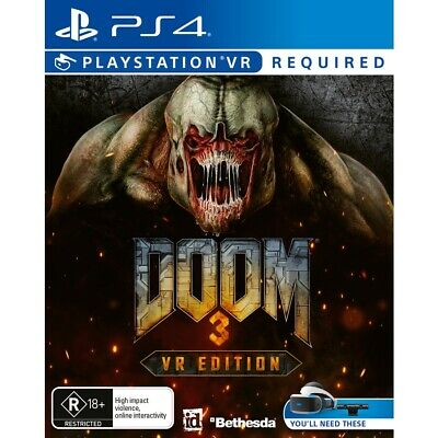 AU29 • Buy Doom 3 VR - PS4
