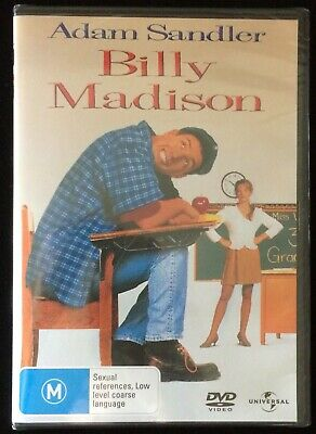 AU9.99 • Buy BILLY MADISON Bridgette Wilson, Adam Sandler, Josh Mostel (1995) DVD