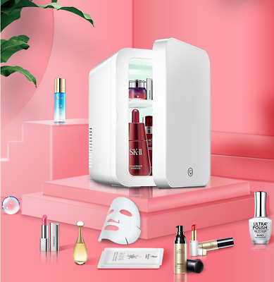 AU85 • Buy 8L Mini Portable Beauty Cosmetics Fridge LED Mirror Makeup Refrigerator Cooler