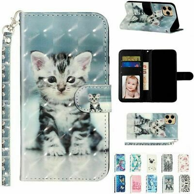 AU14.99 • Buy Pattern Flip Wallet Leather Magnetic Case Cover For IPhone 12 Pro Max 11Pro XR 8