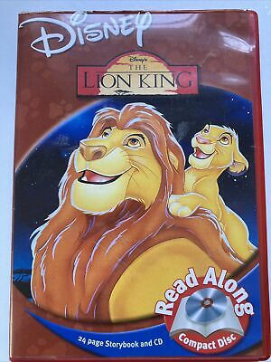 £4.99 • Buy Lion King Disney Read Along Audiobook Cd And Storybook