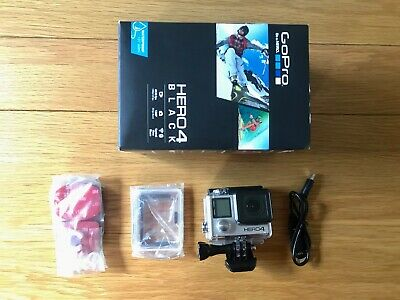 $ CDN242 • Buy Gopro Hero 4 Black Edition Camcorder Boxed 1080p/ 4k Hd Action Video Sdxc - Mint