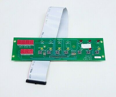 $92 • Buy Ritter / Midmark M9 & M11 (Older Style) Display & Button Panel Board 015-1047-00