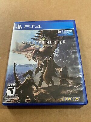 AU10.50 • Buy Monster Hunter World - Sony PlayStation 4 Ps4
