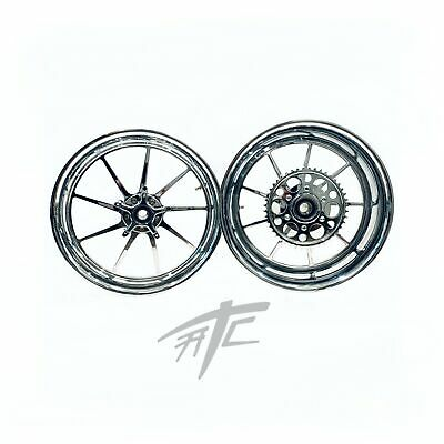 $3199.99 • Buy Gsxr 330 Fat Tire Chrome Omni Wheels 01-08 Suzuki Gsxr 1000