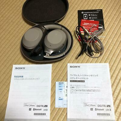 $ CDN277.46 • Buy Sony WH-1000XM2 Wireless Noise Cancelling Headphones Gold W / Many Accessories