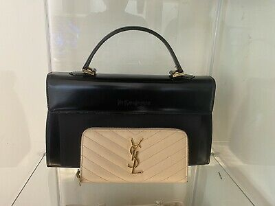 AU1000 • Buy Preloved Yves Saint Laurent Leather Bag & Wallet Bundle