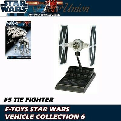 AU41.38 • Buy F-toys Star Wars Vehicle 6 Imperial Empire Tie Fighter 1:144 Model Sw_6.5