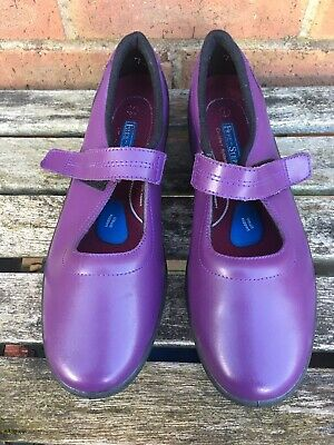 £13.99 • Buy Ladies Purple  Free Step Shoes Real Leather With In Built Support Size U.K. 7