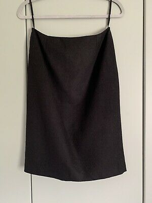 N Peal Black Cashmere Skirt Size 12 • 5£