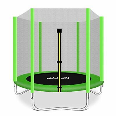 AU371.45 • Buy 6FT Trampoline With Safety Enclosure Net, Jumping Mat, Safety Pad, Mini
