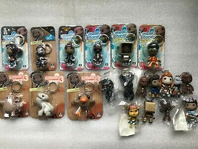 £24.99 • Buy Official Sackboy Keyring/Keychain PROMO Little Big Planet Figure PS4/PS3/PS5 NEW
