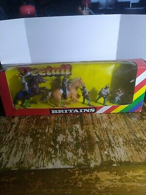 Wbritain Vintage Deetail 5 Confederate Soldier's(7528) New Boxed • 40£