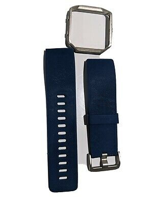 $ CDN6.25 • Buy Fitbit Blaze Blue Classic Accessory Band Size Large USED