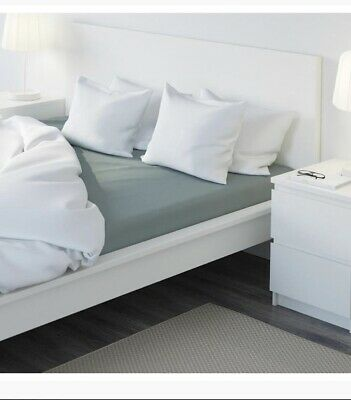 Ikea Puderviva 100% LINEN SHEET SUPER KING SIZE. NEW • 35£