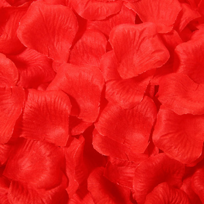 £0.99 • Buy Silk Red Rose Petals Flower Decoration Table Confetti Wedding Engagement Party