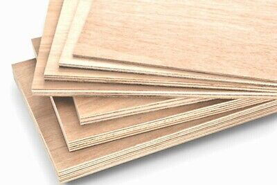 £14.99 • Buy Custom Hardwood Plywood Board 12mm Cut To All Shapes And Sizes