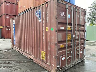 AU4400 • Buy 20ft High Cube Shipping Containers - Ex Melbourne