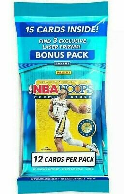 AU30 • Buy NBA Hoops 2019-2020 Premium Stock Cello Fat Pack BRAND NEW SEALED