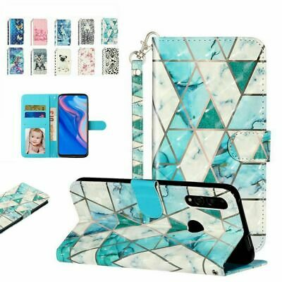 AU14.99 • Buy For Oppo F7 F9 F11 Pro Realme 3 3pro 5 C2 XT Pattern Wallet Leather Case Cover