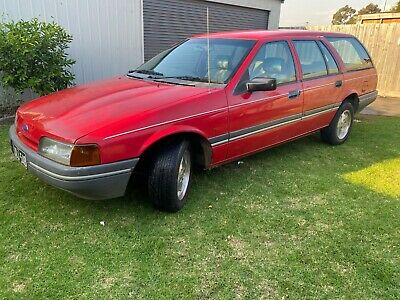 AU1.25 • Buy Ford Falcon 1991 30th Anniversary EA Red Wagon Suit XF XH XG EB ED Fairmont