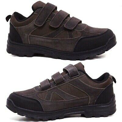 £15.95 • Buy Mens Hiking Boots New Walking Ankle Wide Fit Trail Trekking Trainers Shoes Size