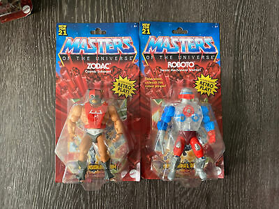 $15.50 • Buy Masters Of The Universe Origins MOTUC Wave Series 3 ROBOTO AND ZODAC LOT🔥🔥🔥