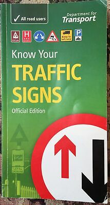 £5 • Buy Know Your Traffic Signs Official Edition. Department For Transport.