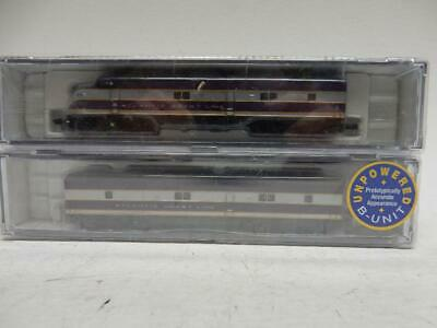 AU129.26 • Buy N SCALE ATLANTIC COAST LINES E6A & E6B DIESEL LOCO SET,  C-9 BRAND NEW In OBs