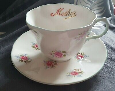£9 • Buy Queen's Rosina 'Mother' China Cup & Saucer Pretty