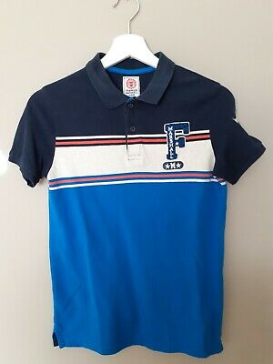 Franklin Marshall Junior Polo Top Size 12-13 Years • 2.50£