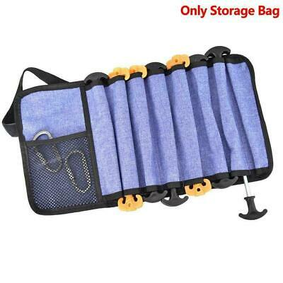 AU11.11 • Buy Heavy Duty Tent Nail And Hammer Storage Bag Stakes Sale Pouch Pegs Holder J5N1